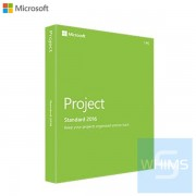 Microsoft Project 標準版 2016 (1 PC)