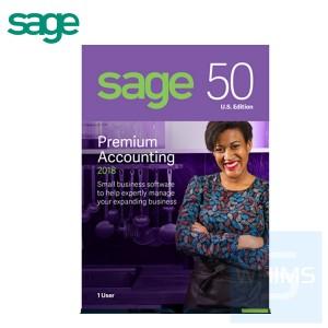 Sage 50 Peachtree Premium Accounting 2019 - 1 / 3 / 5 用戶 ( 英文盒裝版 )