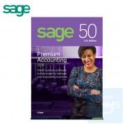 Sage 50 Peachtree Premium Accounting 2018 - 1 / 3 / 5 用戶 ( 英文盒裝版 )