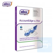 ABSS MYOB - AccountEdge v13 for MAC ( 1 / 3 網絡 用户 英文盒裝版 )