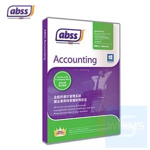 ABSS MYOB - Accounting v25 ( 1 個用户 繁體及英文盒裝版 )