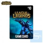 英雄聯盟(正義之盟)10美元點數卡(下載版)