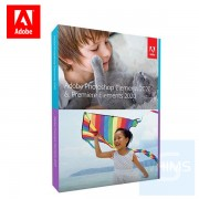 Adobe - Photoshop Elements & Premiere Elements 2020 PC & Mac ( 英文盒裝版 )