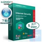 Kaspersky Internet Security - 1 用戶 3年 ( 繁體及英文 Windows / Mac下載版 )