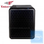Eagle Safes - UNI 型格菱形閃黑防火萬夾+電子密碼鎖 (040NB)