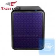 Eagle Safes - UNI 型格菱形閃紫防火萬夾+電子密碼鎖 (040BP3)