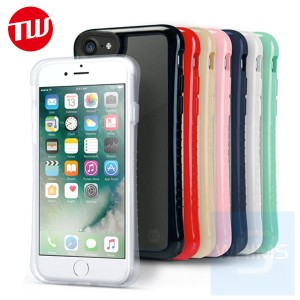 日本品牌 Tunewear Hybrid Shell for iPhone 7 / 8 連9H-TUNEGLASS貼