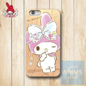 My Melody (MM90W) 木殼 Wood Case for iPhone 系列