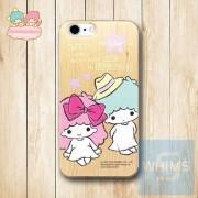 Little Twin Star (TS90W) 木殼 Wood Case for iPhone 系列
