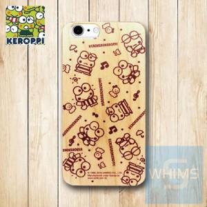Keroppi (KR89W) 木殼 Wood Case for iPhone 系列