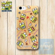 Keroppi (KR91W) 木殼 Wood Case for iPhone 系列