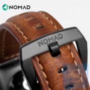 Nomad - 美國 Horween 真皮手造仿古棕色錶帶 42MM