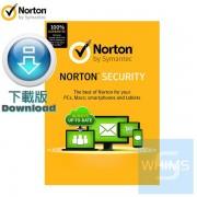 諾頓 Norton ™ 網路安全入門版 1裝置 2年 ( 繁體及英文下載版 )