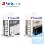 Verbatim 4 Ports 多功能充電器