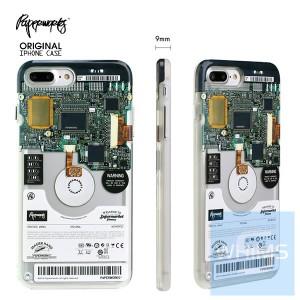 PAPERWORKS 電腦硬盤 包邊殼 for iPhone 7/8 Plus