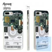 PAPERWORKS 電腦硬盤 包邊殼 for iPhone 7/8 Plus & X
