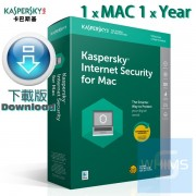 Kaspersky Internet Security for MAC - 1 用戶 1年 ( 繁體及英文 Mac下載版 )