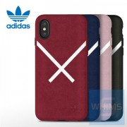Adidas - XBYO 貼皮背殼 for iPhone X