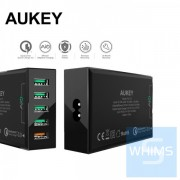 德國 Aukey - PowerAll 5 Port USB 充電器、支援 QC 3.0 PA-T15