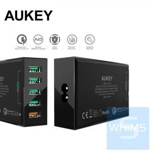 德國 Aukey - PowerAll 5 Port USB 充電器、支援 QC 3.0 PA-T15