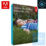 Adobe Photoshop Elements 2018 PC & Mac ( 英文盒裝版 )