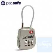 Pacsafe - Prosafe 800 TSA認証3位撥號電纜鎖