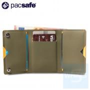 Pacsafe - RFIDsafe TEC三折錢包 - 綠色