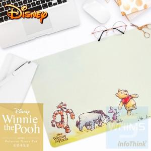 infoThink - 小熊維尼系列悠閒滑鼠墊- 維尼 / 小豬 / 森林趣