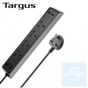 Targus - SmartSurge 4位防雷拖板連2個智能USB充電插口 ( 黑色 )