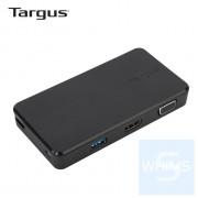 Targus - DOCK110AP USB 3.0 雙視訊攜行擴充工作站 (黑色)