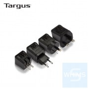 Targus - APA721 15.5W雙頭USB充電器micro雙USB電源充電器,帶可折疊和可更換插頭