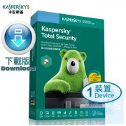 Kaspersky Total Security - 1 裝置 2 年 (Windows + Mac + Android) ( 繁體及英文下載版 )