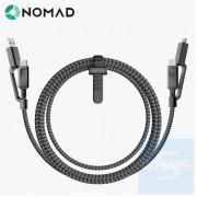 Nomad - 4 合1 USB-C 通用充電線 1.5米