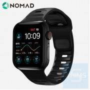 Nomad - Sport Band Strap - 黑色矽膠44/42MM錶帶