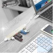 j5create - JCH377 - USB-C 7端口USB HUB (附 AC 火牛)