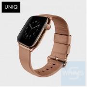 UNIQ - Mondain 38/40mm 米/粉色錶帶