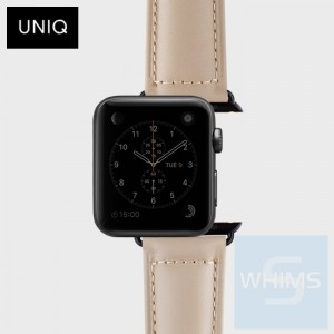 UNIQ - Kronos Duffle 真皮 42mm 黑/棕/藍/米色錶帶