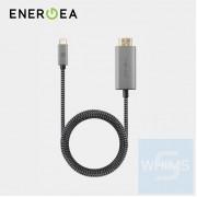 Energea - Fibratough 3.1 USB-C轉HDMI 4K 2米連接線