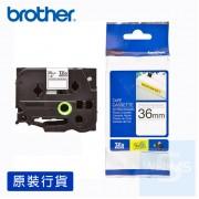 Brother - 36mm 已過膠標籤帶 (覆膜/護貝)系列