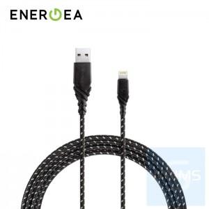 Energea - DuraGlitz 快速充電Lightning線 3米 (黑色)