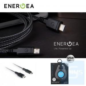 Energea - NyloTough數據線 USB-C轉Micro 1.5米 (酷黑)