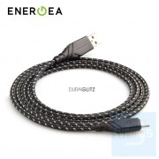 Energea - DuraGlitz數據線 USB-A轉USB-C 3米 (酷黑)