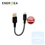 Energea - NyloTough快速充電線 Micro USB 16厘米