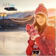 AIR PIX - by 美國品牌 AirSelfie 袖珍口袋航拍機 黑色