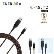 Energea - DuraGlitz快速充電線 Micro USB 1.5米