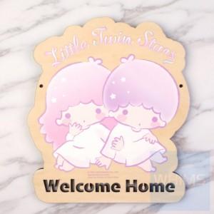 Sanrio - Little Twin Stars 自訂文字木製門牌(TS81s)