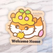 Sanrio - CoroCoroKuririn CK鼠 自訂文字木製門牌(CK81s)