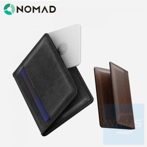 Nomad - 超薄錢包標準版 ( 棕色/黑色 )