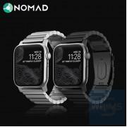 Nomad - 鈦合金錶帶 42mm/44mm (黑色/銀色)