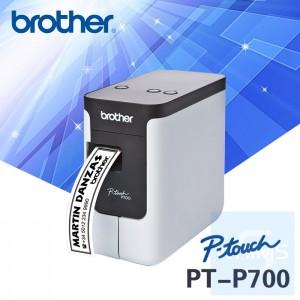 Brother - PT-P700 隨插即用標籤機 連接PC和Mac